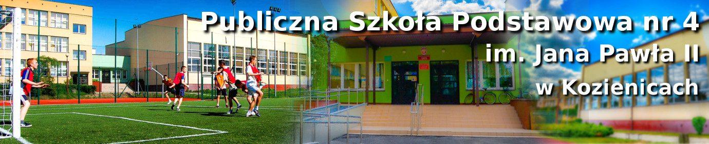 Publiczna Szkoła Podstawowa nr 4 im. Jana Pawła II w Kozienicach